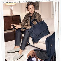 Charming Francesco Carrozzini conveying Tod's style in the Tod's Men's Spring/Summer campaign. #TodsJournal #Tods #SS17
