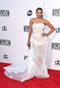 All the Looks from the 2015 American Music Awards | Kat Graham wearing a ring by L'Dezen by Payal Shah