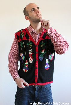 Ugly Guys Sweater
