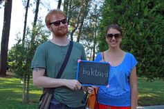 Thanks to this nice couple from Poland for sharing their love of Batumi :)