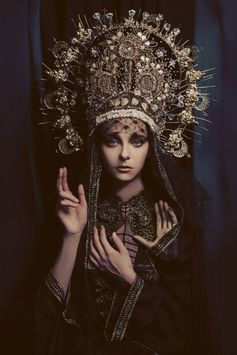 Madonnas by Katarzyna Widmanska, a photographer based in Warszawa, Poland, are visually striking. Inspired by the historical and religious a...