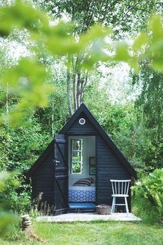 A dreamy garden retreat.
