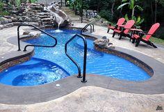 fiberglass pool above ground