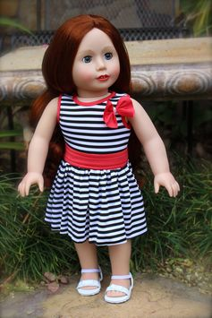 New Spring Styles for 18 inch Dolls and American Girl are at www.harmonyclubdolls.com