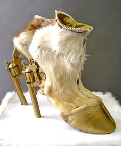 Heels Fit For a Cowboy ... or Satyr