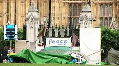 Instant de paix à Londres...