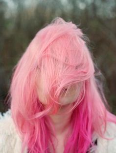 Pink - I still think about my  pink hair ALL THE TIME.
