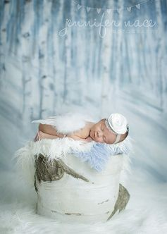 THE ORIGINAL: 'Angel Bebe' Wings  Headband Baby Photo Prop on Etsy, $27.95