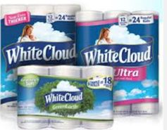 White Cloud:  Buy 1 Toilet Paper, Get 4-Pack FREE Coupon!