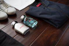 New HUGO Iced and the signature HUGO Man fragrance.