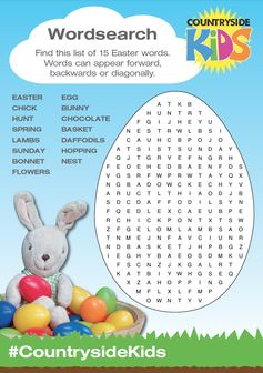 Easter Activity Sheets. Rainy day or just need a bit of down time, can you find 15 Easter words in this Wordsearch puzzle?