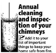 Remember cleanings when you start your spring cleaning.