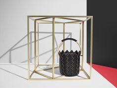 Up close with one of the new Sara Battaglia #FerragamoCapsule FW17 handbag collection.
