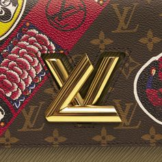 A new Twist for the Louis Vuitton Cruise 2018 Fashion Show by Nicolas Ghesquière.  Classic Monogram meets Japanese motifs for the show held at the Miho Museum near Kyoto, Japan.