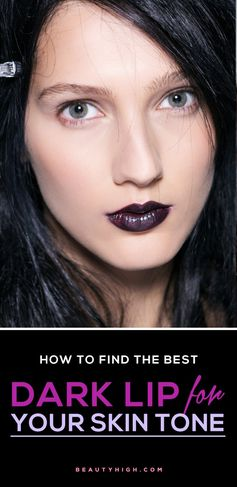 How to wear the dark lipstick trend: A beauty expert dishes on the best dark lip shades for fair, olive, medium/bronze, and dark skin tones