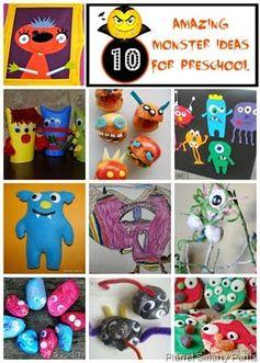 10 Amazing Monster Ideas for Preschoolers