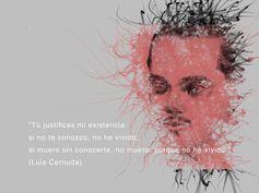 """CERNIÉNDOSE EN UN POEMA DE CERNUDA// Corregiré si acaso al tal Cernuda y le daré un retoque gongorino que el arte es un motivo para el arte y a nadie ha de asustar ese saqueo; así Picasso repinta Las Meninas y Francis Bacon un Papa velazqueño y sirva tal a modo de homenaje hoy efemérides de su fallecimiento: """"Justificas mi existencia por entero que si yo no te hubiese conocido no tuviera un vivir que es verdadero y al sin descanso eterno condenado que es el morir negado si no vivo""""…"""