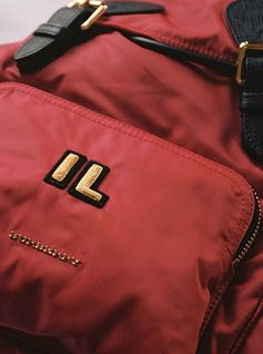The Rucksack is available to monogram with up to three initials