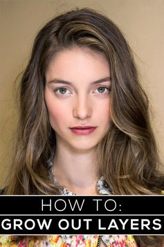 how to grow out layers