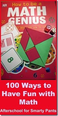 100 Ways to Have Fun with Math from preschool days to #elementaryschool.