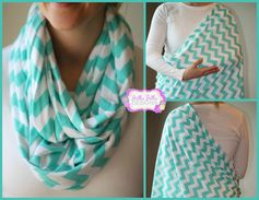 Nursing scarf, what a great idea! Wear it as a scarf, then open it up to discreetly nurse.  What a great baby shower gift!!