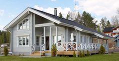 Maison en bois moderne en provenance de la Finlande - Maison d'Ikihirsi
