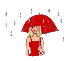 雨でも幸せ!