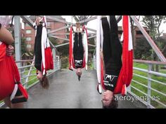 yogacreativo.com: Yoga Aéreo: Ejercicio de la Vela Aérea (Vaihayasa Sarvangasana) con Rafael Martínez