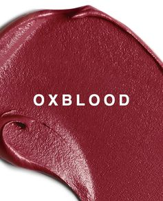 Burberry Liquid Lip Velvet in Oxblood, featuring a colour palette inspired by Burberry runway fabrics, add a bold accent to your beauty look.