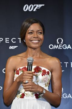 Naomie Harris attends the event celebrating the OMEGA SPECTRE Japan release on November 30, 2015 in Tokyo, Japan.