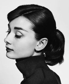 Best ponytails of all time: Audrey Hepburn