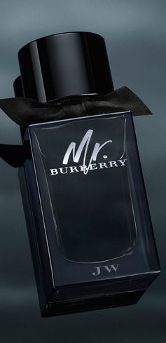 Mr. Burberry Eau de Parfum. Monogram a bottle today.