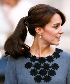 Best ponytails of all time: Kate Middleton