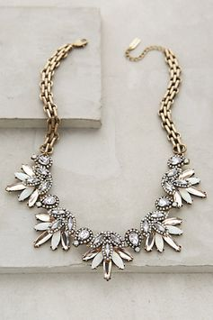 Lavande Bib Necklace #anthroregistry