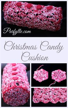 Christmas Candy Cushion