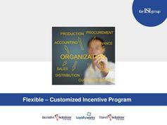 Flexible - Customized Incentive Program