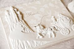 The most perfect fairy tale wedding guest book