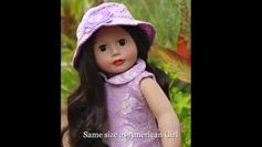 Beautiful 18 inch Dolls like Americn Girl. Harmony Club Dolls. http://www.harmonyclubdolls.com