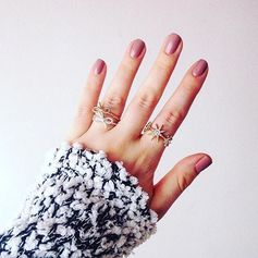 #manimonday inspo c/o @opi_products #ticklemyfrancey and @rubyredslippers8. Also, ring game so strong. :raised_hands: