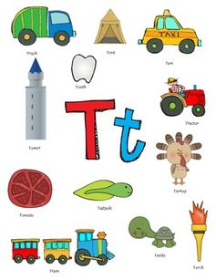 Words Start With Letter T