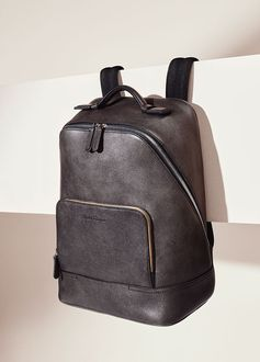 Never back down from an adventure. Presenting the grown man's backpack. #FerragamoSS17  ferragamo.com/shop/en/usa/men/large-leather-goods