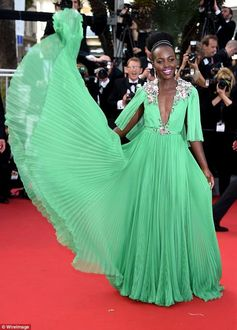 Lupita came twirling onto the Cannes 2015 red carpet!
