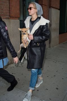 Jennifer Lawrence goes out in NYC.