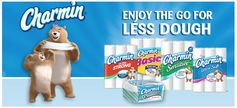 Charmin:  $1 off Charmin Ultra Soft or Ultra Strong Coupon!  First 5,000 Only!