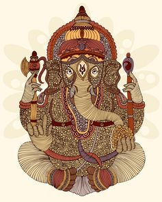 Loving everything about this Ganesha