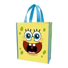 Small Shopper Tote - Great eco-friendly alternative to the traditional #giftbag!  #SpongeBobSquarePants #VandorLLC