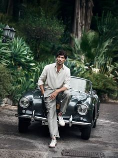 Presenting an exclusive first look at the new Ferragamo Spring Summer 2017 campaign. Lensed by Peter Lindbergh and starring Andres Velencoso, the dreamy portfolio was shot on location in Sicily.