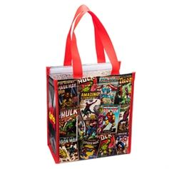 Marvel Comics Small Insulated Shopper Tote #VandorLLC