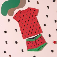 Playfully fruity prints pop up on the new season collection!      Discover at #StellaMcCartney.com