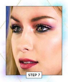 Watercolor Makeup: Step 7
